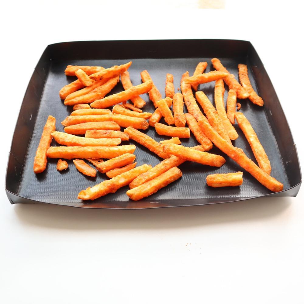Bluedrop корзина для хлебобулочных изделий с антипригарным покрытием, поднос для выпечки, запчасти для быстрой печи, аксессуары для барбекю, микроволновая печь для приготовления пищи