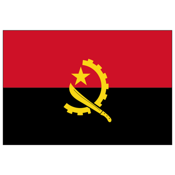 free  shipping  xvggdg   90 x 150cm   Angola    flag Banner Hanging National flags  Angola  banner united arab emirates national flag 90 150cm 60 90cm 15 21cm for national day