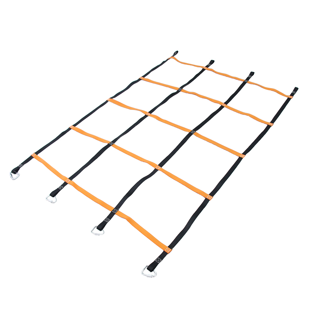 Climbing Cargo Net Rope Ladder For Kids Children Playing Backyard Game Tool 120cm X 200cm