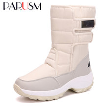 Snow Boots Women Winter Boots Waterproof Flexible Women Fashion Casual Boots Winter Female Warm Botas Mujer Plus Size(China)