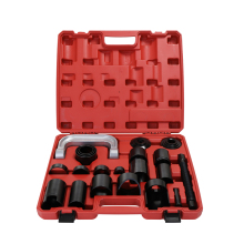 21PCS Automotive Car Repairing Tool Kit C Type Puller Ball Joint Removal Tool Master Adapter Ball Disassembly Tool