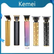 100% оригинальный мужской беспроводной триммер kemei pro li