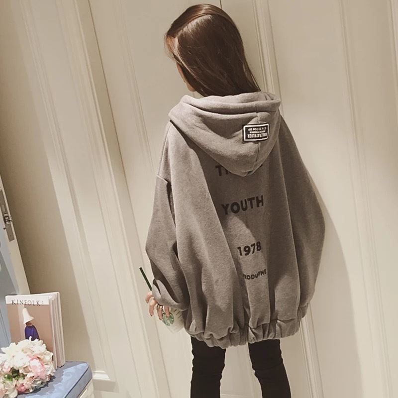 Plus Size Hoodies Sweatshirt Women Fashion Letter Printed Pullover Hoodies Female Autumn Winter Tracksuit Hoody Beige