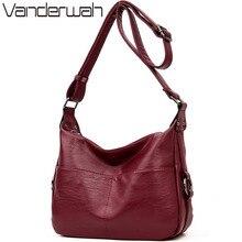 Sac a main Leather Crossbody Bags For Women 2019 Luxury Handbags Women Bags Designer Handbags High Quality Women Shoulder Bag