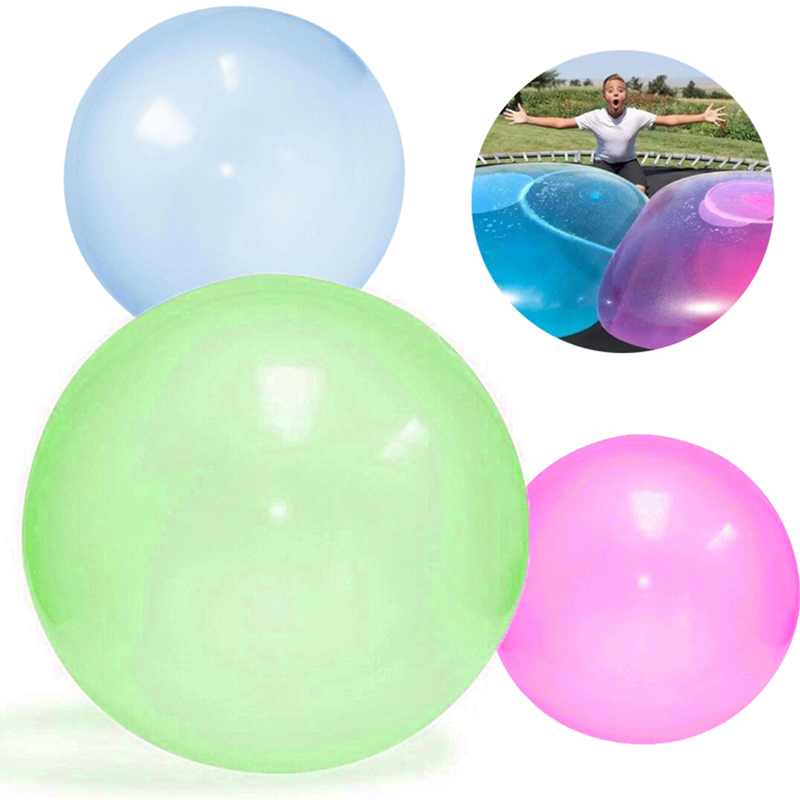 Bubble Balloon Inflatable Funny Toy Ball Amazing Tear-Resistant Super Gift Inflatable Balls For Outdoor Play