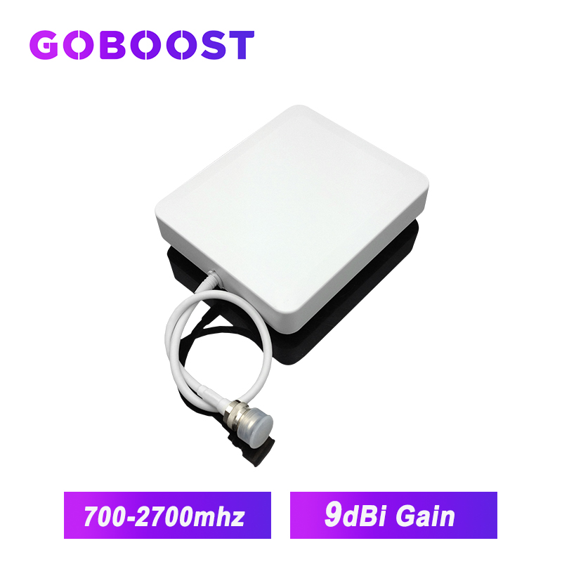 4G GSM 3G Indoor Antenna 700-2700MHz 9dBi Wall-mounted Antenna For Communication Network Cellphone Booster /