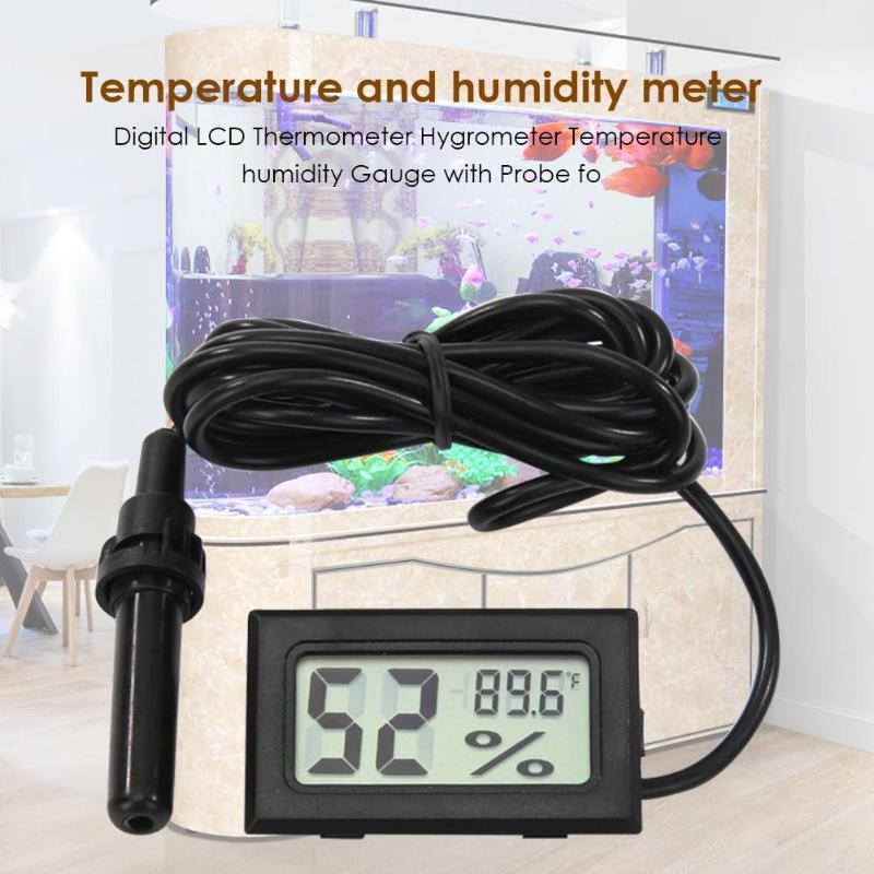 High Precision Digital LCD Thermometer Hygrometer Family Laboratory Library Indoor Outdoor Temperature Humidity Meter