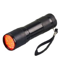 High performance red illumination LED Flashlight Professional Vein Finder Transilluminator Pediatric Unit Clinicians Nurses IVs