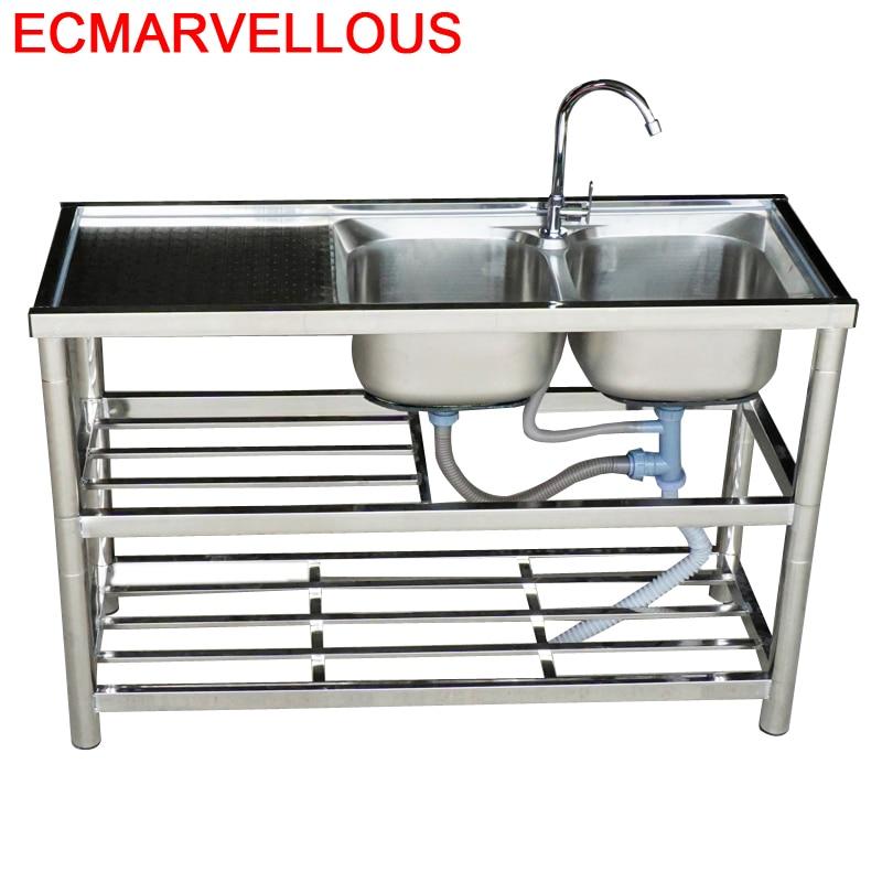 Faucet Portatil Integral Tarjas Para Wasbak Umywalka Lavandino Cucina Fregadero De Cocina Cuba Lavabo Pia Cozinha Kitchen Sink