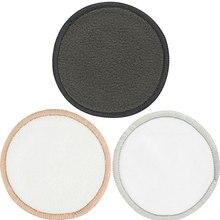 Многоразовые подушечки для снятия макияжа хлопковые подушечки очищающие салфетки для лица протирание лица Прямая поставка SMJ