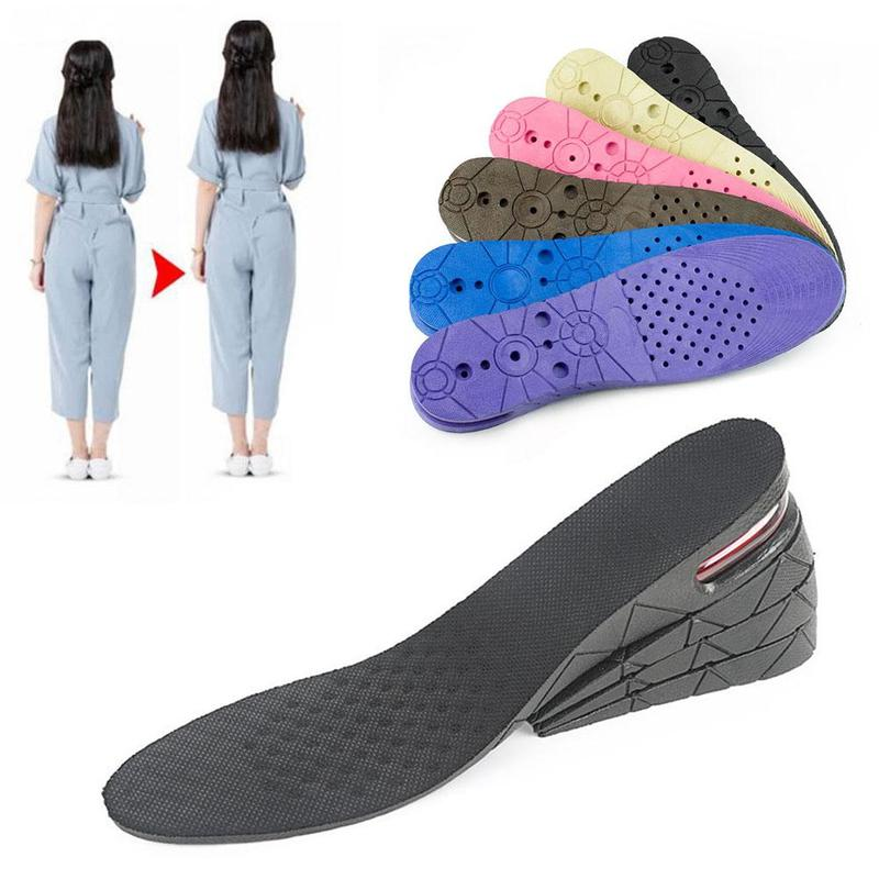 3cm 5cm 7cm 9cm Air Cushion Heel Insert Increase Taller Height Lift Shoes Insole