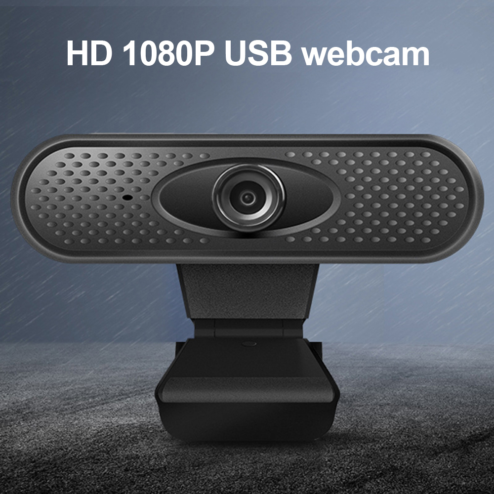 Willkey Full HD 1080P Webcam USB Pc Computer Camera With Microphone Driver-free Video Webcam For Online Teaching Live Broadcast