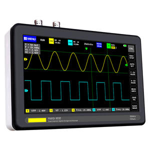 Mini-Analyzer Oscilloscope-Set 7inch-Screen Digital Handheld Electronic 2-Channel