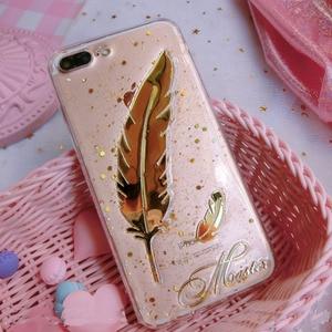 Image 3 - Уникальный 3D Блестящий чехол для телефона с именем на заказ для iPhone 11 Pro 6 7 8 Plus X Max XR Samsung Galaxy S20 S8 S9 S10 Note 20 10 9 Ultra