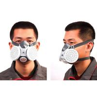 Labor Protection Protective Mask Industrial Dust Particle Filter Respirator|Masks| |  -