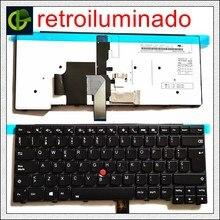 Espanhol Teclado Retroiluminado para lenovo ThinkPad L440 L450 L460 L470 T431S T440 T440P T440S T450 T450S e440 e431S T460 SP LA Latina