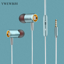 YWEWBJH  Wired Earphone for Phone Bass Sound Headset Stereo in head Sport Music Earbuds Earpiece W508