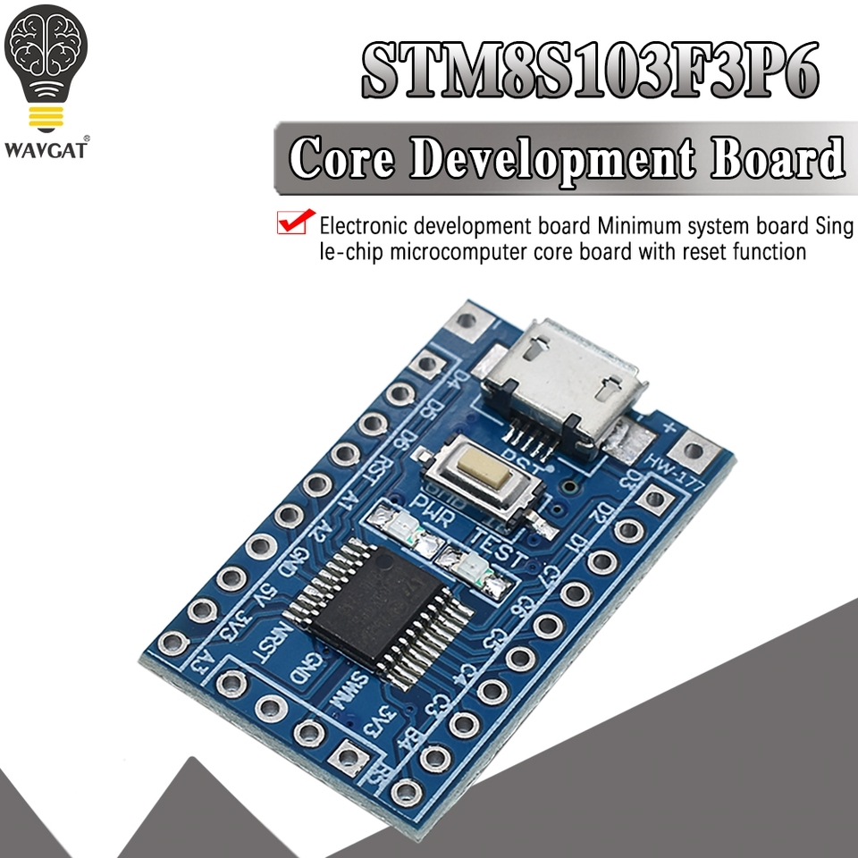 Attiny13 Avr Development Board Learning Board Core Board Minimum System Board V1