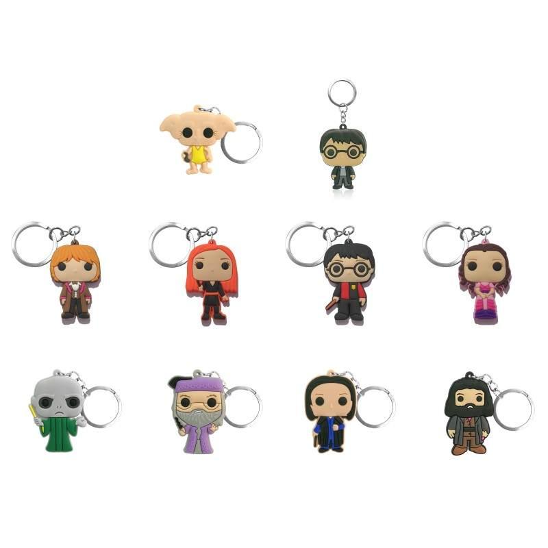 Keyring Keychains Trinkets-Accessory Key-Holder Charms Anime Figure Gifts Movie Fashion