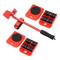 NICEYARD 4 колесных угловых Movers + 1 коронка тяжелые инструменты с подвижными элементами мебель транспорт дологовечный ручной инструмент набор с...