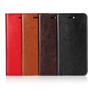 Image 5 - 360 Natural Genuine Leather Skin Flip Wallet Book Phone Case Cover On For Xiaomi Mi 5 6 Mi5 Mi6 Pro Prime 3/4 32/64 GB Xiomi