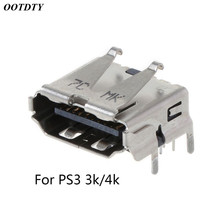 For Playstation 3 PS3 HD PS 3 Super Slim 3000 4000 3K 4K HDMI Port Jack Socket Interface Connector Replacement