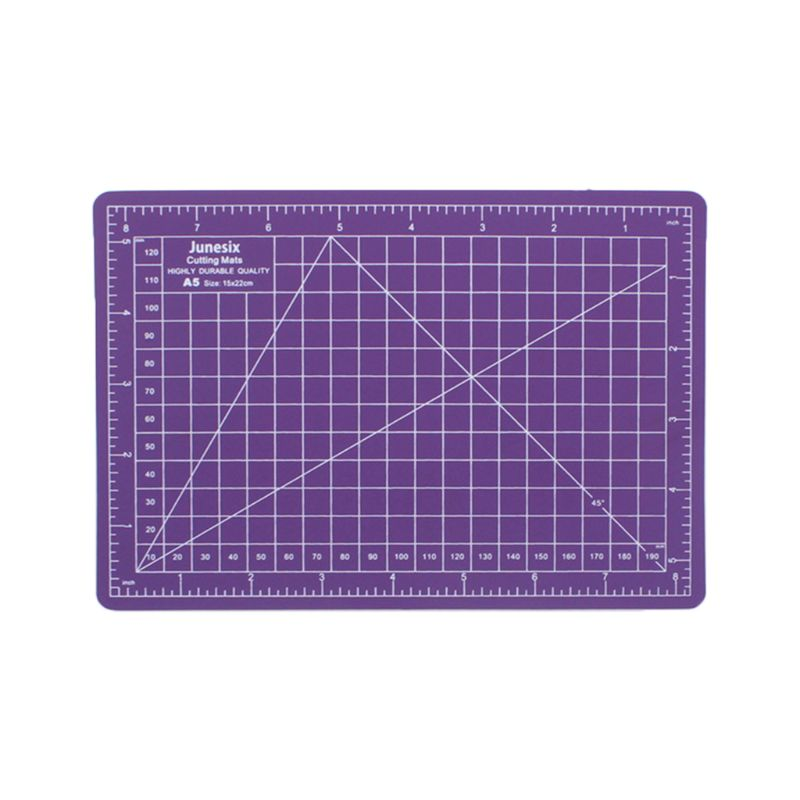 A5 Cutting Board Manual Model Multi-Purpose Model Cutting Pad Rubber Stamp Engraving Pad Measuring Scale Board R9UA
