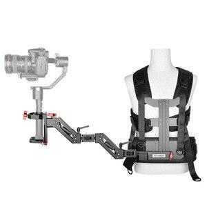 Yelangu видео камера Gimbal шестерни поддержка жилет пружинный рычаг стабилизатор системы для Ronin S SC Zhiyun Crane 2 FeiyuTech G6 Max Plus