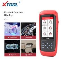 XTOOL programador de teclas automático X100 Pro2 OBD2 Ajuste de kilometraje X100PRO ECU, lectura de código de reinicio, herramientas de coche, actualización gratuita en varios idiomas