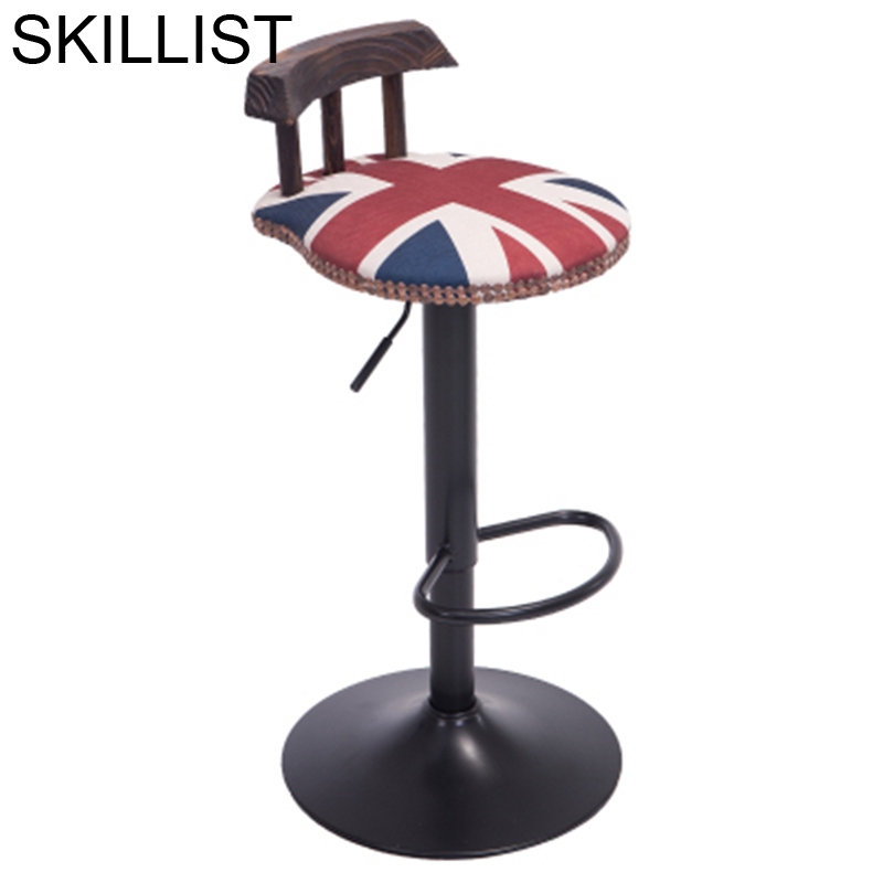 Silla Para Barra Stoelen Sandalyeler Sgabello Sedia Fauteuil Kruk Leather Tabouret De Moderne Stool Modern Cadeira Bar Chair