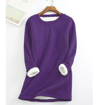 Autumn Winter Knitted Sweater Women Pullover O Neck Long Sleeve Femmle Loose Plus Size Warm Sweater Female Long  Add Plush Tops