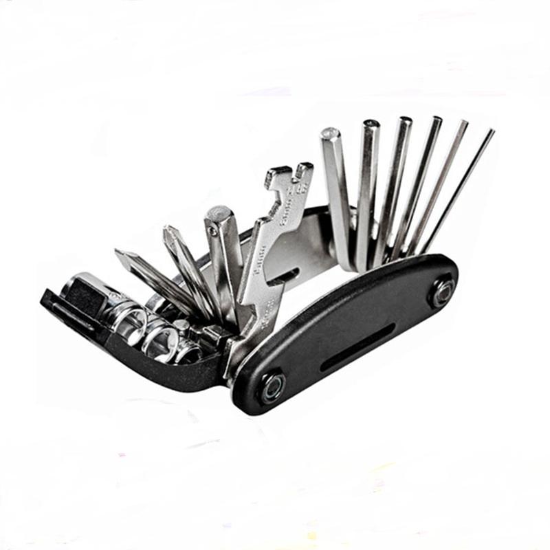 16 In 1 For Xiaomi M365 Multi-Function Hex Removal Tool Outdoor Accessories New Stainless Steel Scooter Skateboard Parts Skate