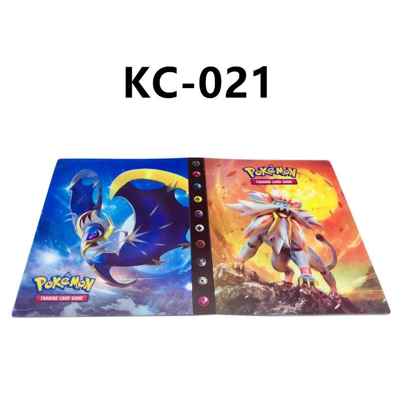 24 стиля Pokemon Cards альбом книга мультфильм аниме Карманный Монстр Пикачу 240 шт держатель альбомная игрушка для детей подарок - Цвет: KC-021