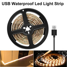 цены на Led Vanity Makeup Mirror Light Strip 5V LED Flexible Tape USB Cable Powered Waterproof Decor Dressing Table mirror Lamp 0.5m -5m  в интернет-магазинах