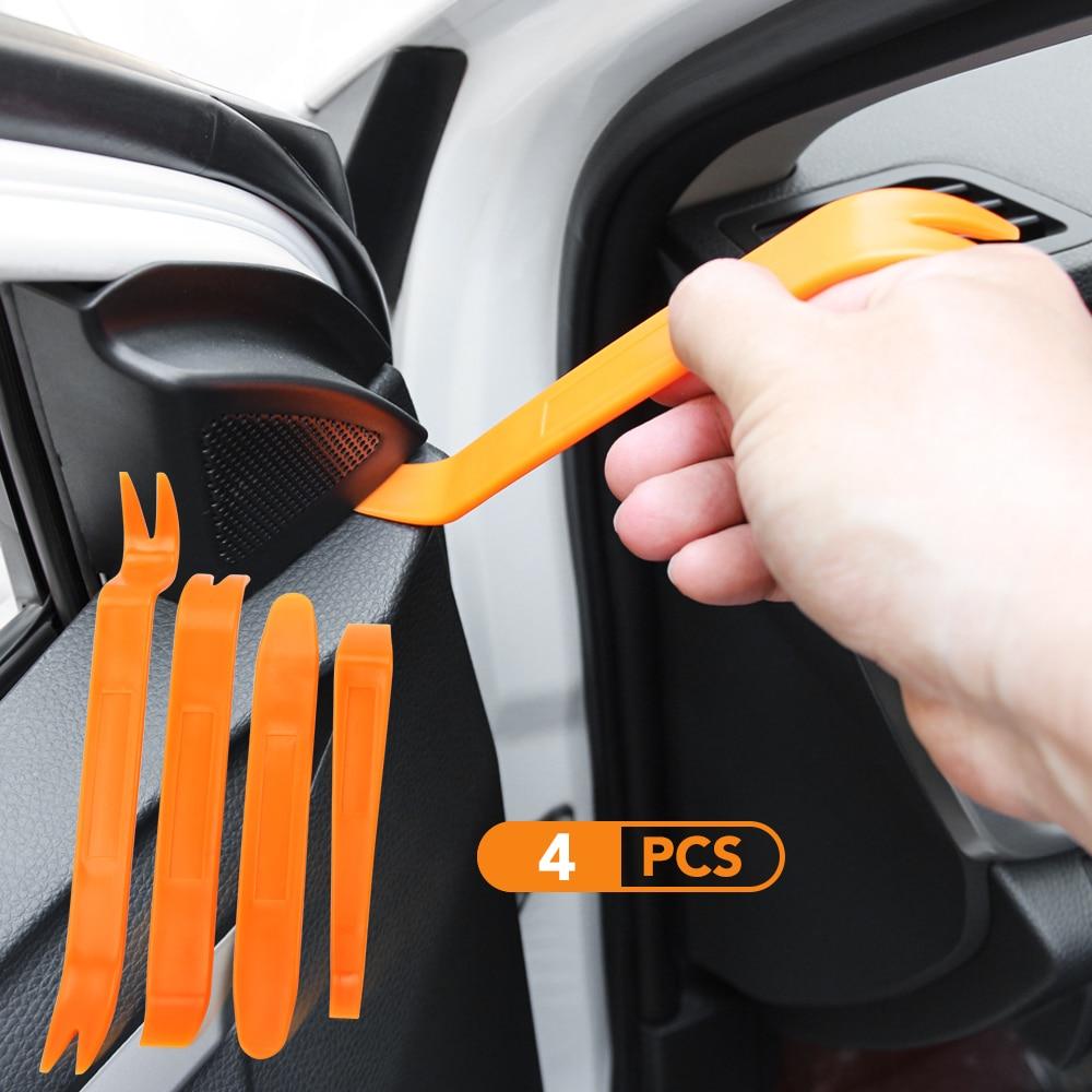 Автомобиль 4 шт./компл. удаление наклейки в виде инструментов для BMW E46 E39 E90 E60 E36 F30 F10 E34 X5 E53 E30 F20 E92 E87 M3 M4 M5 X5 X6 аксессуары