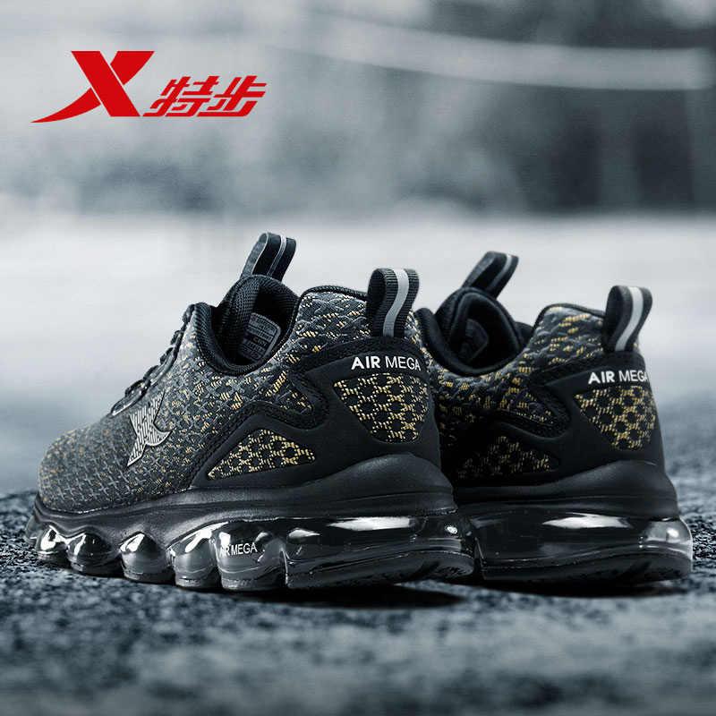 982119119087 воздуха Мега XTEP Для мужчин Для женщин воздуха Бег обувь для атлетов подошва демпфирования спортивные кроссовки Для Мужчин's Для женщин обувь для бега