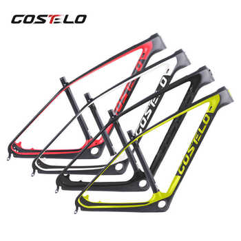 Costelo SOLO 2 carbon Mountain MTB Bicycle Carbon Frame Torayca UD Carbon Fiber Bicycle Frame  27.5er 29er Carbon Mtb bike frame - DISCOUNT ITEM  5% OFF All Category
