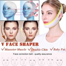 Lifting twarzy Up maska bandaż pielęgnacja podbródek policzek uroda pas wyszczuplający v-line lifting twarzy ing twarzy wyszczuplanie uroda Anti-Aging narzędzie tanie tanio cmaadu Brak elektryczne Żywica Hand made Mask Bandage