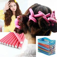 42Pcs/ Bag Curlers Universal Bars Curly Hair Bars Pearl Cotton Hair Bars Gift Sets Not Hurt Hair Tools level bars 34430
