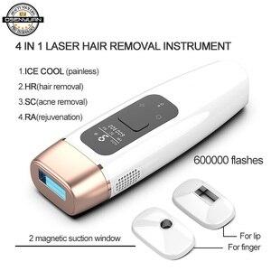 Image 1 - Osenyuan IPL Laser Epilator Hair Removal Icecool Permanent Home Bikini Trimmer Electric Depilador A Laser For Women