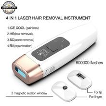 Osenyuan IPL Laser épilateur épilation Icecool Permanent maison Bikini tondeuse électrique dépilador un Laser pour les femmes