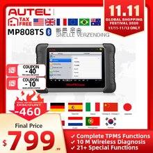 اوتل ماكسيبرو MP808TS أداة تشخيصية مثل MS906 و TS601 PK MK808 AP200 MK808TS برمجة TPMS شاملة شحن سريع