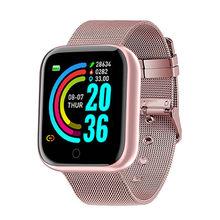 GIAUSA Rosa Weibliche 2021 Neue Herz Rate Monitor Smart Uhr Männer Schlaf Gesundheit Tracker Sport Frauen Smartwatch für android ios