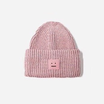 2020 New Acne unisex women's autumn and winter hats Angora100% double layer warm hat Skulies wool hat Warm knitted hat 15