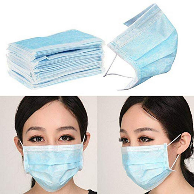Image 5 - Hot Sale 10/20/50 pcs Surgical mask Fast shipping Face Mouth 