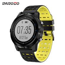 DAROBO N105 GPS Smartwatch Motion Track Fitness Heart rate monitor Waterproof Sport smart watch men Full touch screen rundoing n105 gps smart watch heart rate monitor smartwatch gps waterproof ip68 men sport modes smart watch gps