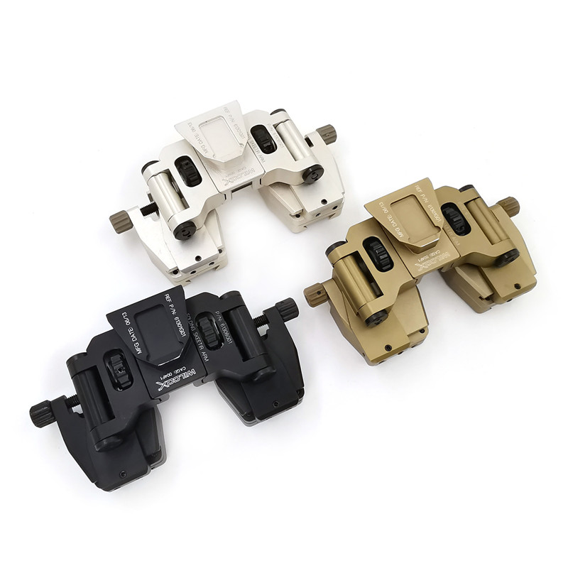 Tactical Hunting SM-2 Mount Helmet Binocular Accessories Fits G24 NVG Mount And Provides A Solid Mounting Platform And Severa