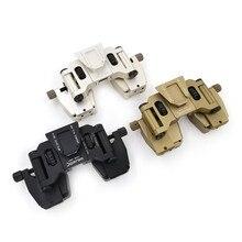 Tattica di Caccia SM 2 mount Casco Binoculare Accessori adatto G24 NVG mount e fornisce una solida piattaforma di montaggio e severa