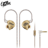 OM3 Original bass earphones wired 3.5mm In ear Dynamic Earphone HIFI DJ Earbud 2Pin 0.78mm Connector Detachable Cable for huawei