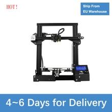 Creality 3D yazıcı yeni Ender 3 DIY Drucker Impresora 3D kendinden montajlı ile devam baskı 3D yazıcı Anycubic